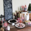 Hot Chocolate Bar for Caroling Party