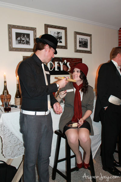Great ideas for a 1920's Speakeasy party!