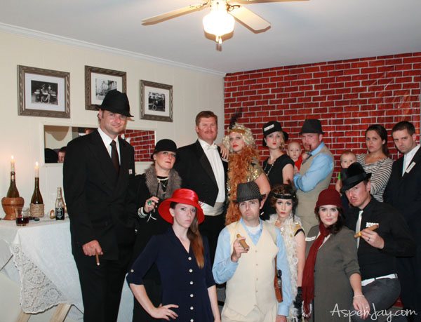 Great ideas for a 1920's Speakeasy party! @aspenjay.com