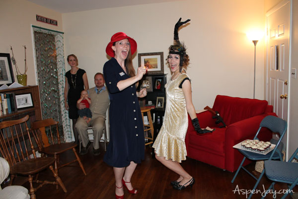 Roaring 1920 39 s speakeasy party aspen jay for 1920s decoration party