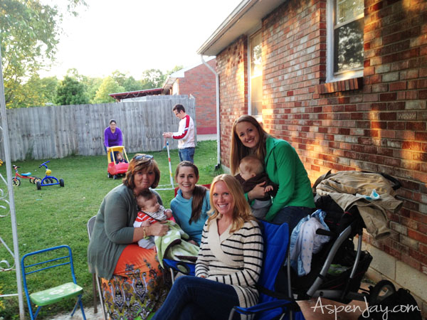 Backyard BBQ Party