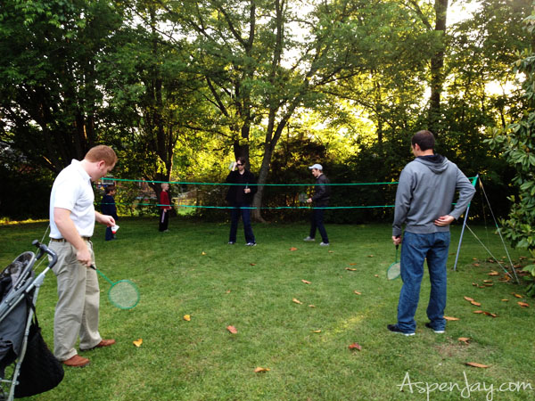Backyard BBQ Party games