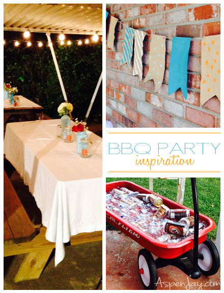 Backyard BBQ Party inspiration