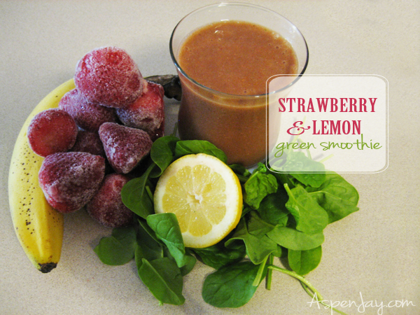 Great beginner or kid friendly green smoothie