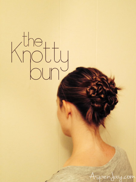 how to fix knotty hair