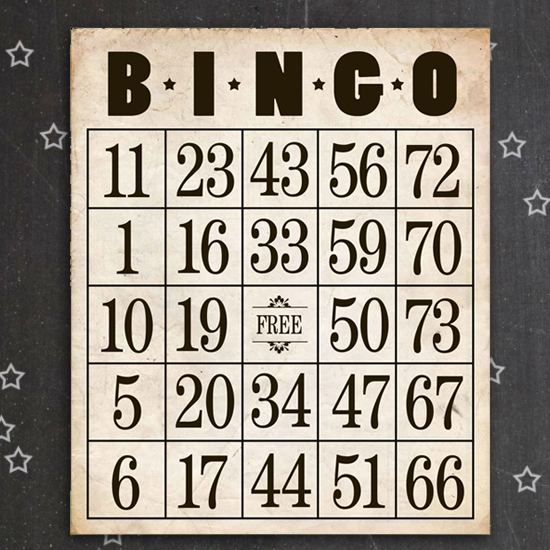 graphic about Free Printable Bingo Cards With Numbers known as Totally free Printable Bingo Playing cards - Aspen Jay