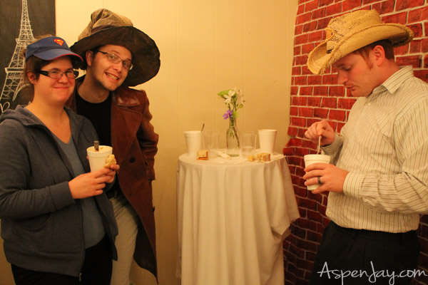 Hat & Soup Party with a French Cafe Twist. This would be such a great party!