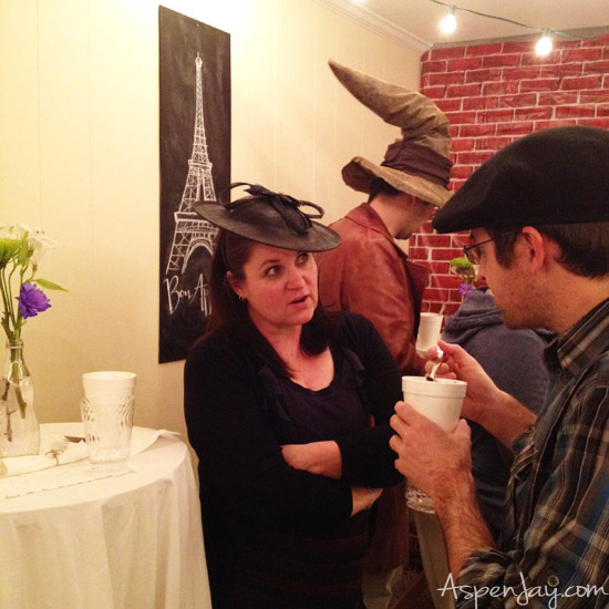 Hat & Soup Party with a French Cafe Twist
