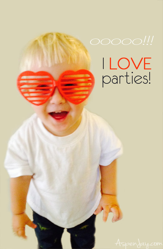 I LOVE parties!!!! This is such a fun idea!