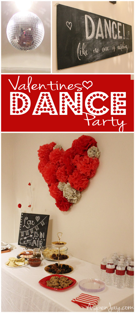 Throwing A Valentines Dance Party