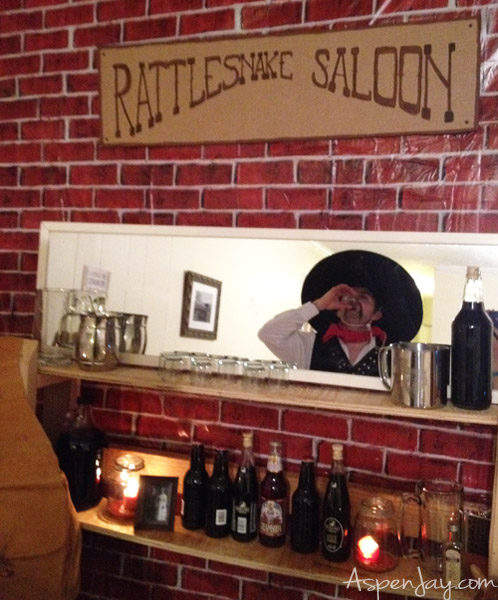 how to throw an old western saloon party