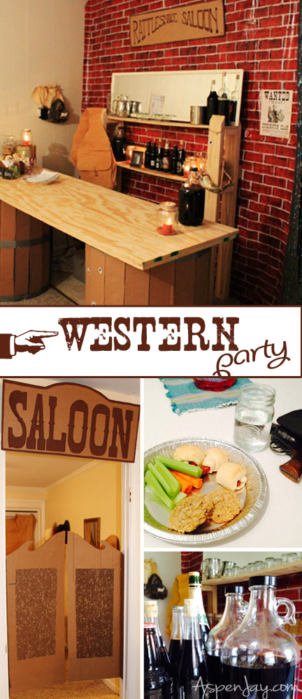 How to throw a country western party- such simple yet clever ideas! Love it!