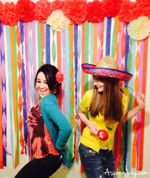 Fiesta Party ideas- super cute, cheap, and easy to make!