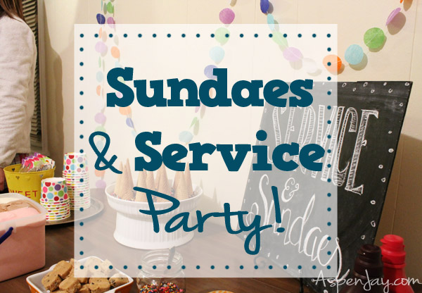 sundae service party!