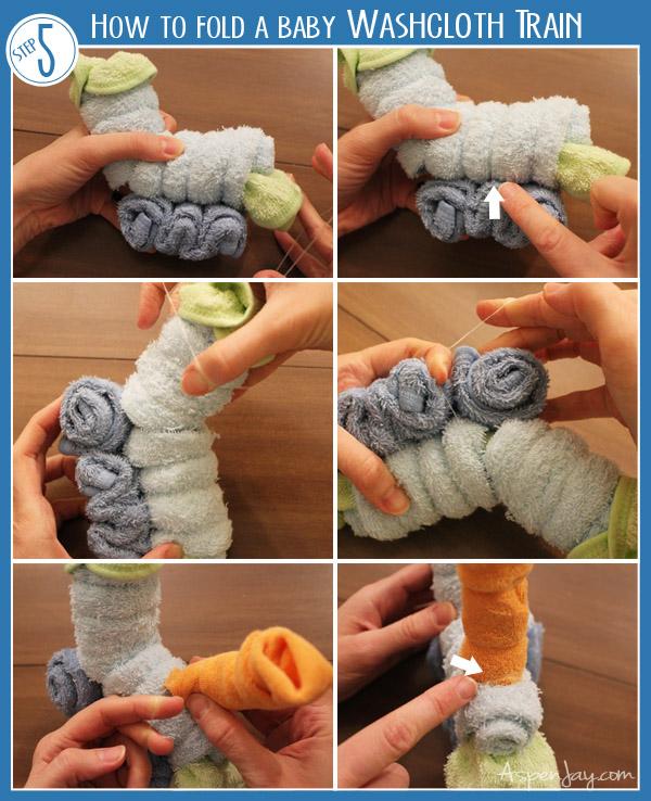 how to fold a washcloth train aspen jay