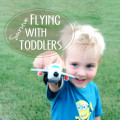 How to survive flying with small children. Great tips that I was glad to be reminded of!