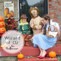 Cute wizard of oz family for Halloween