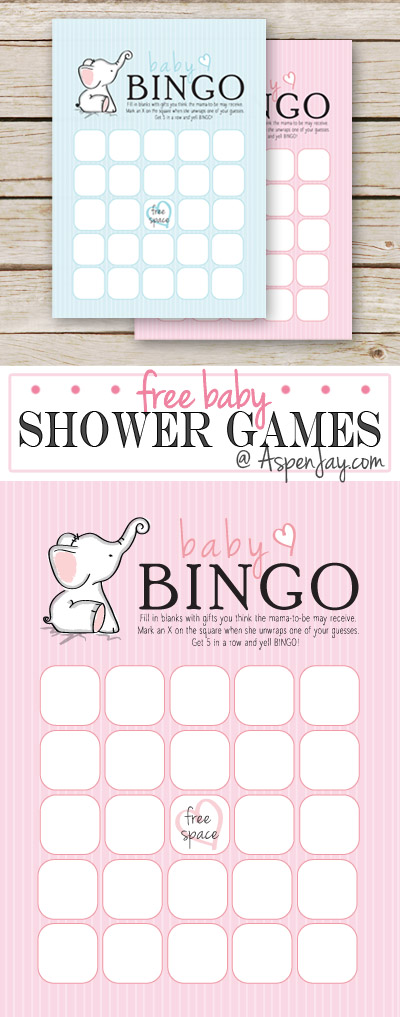Free Baby Bingo Cards That Are Customizable A Great Way
