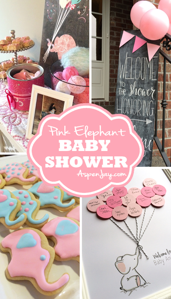 adorable diy ideas for a pink elephant baby shower love the touch of