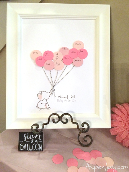 Free Elephant Baby Shower Guest Book Printable. SUPER Cute! And You Can  Even Customize