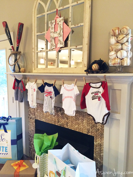 super cute baseball themed baby shower everything is just perfect