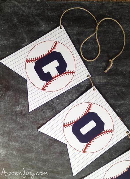 Large Baseball Concession Stand Banner \u2013 Printable Sports Party \u2013 DIY Blue Baseball Party \u2013 Baseball Team Party Decoration \u2013 Digital