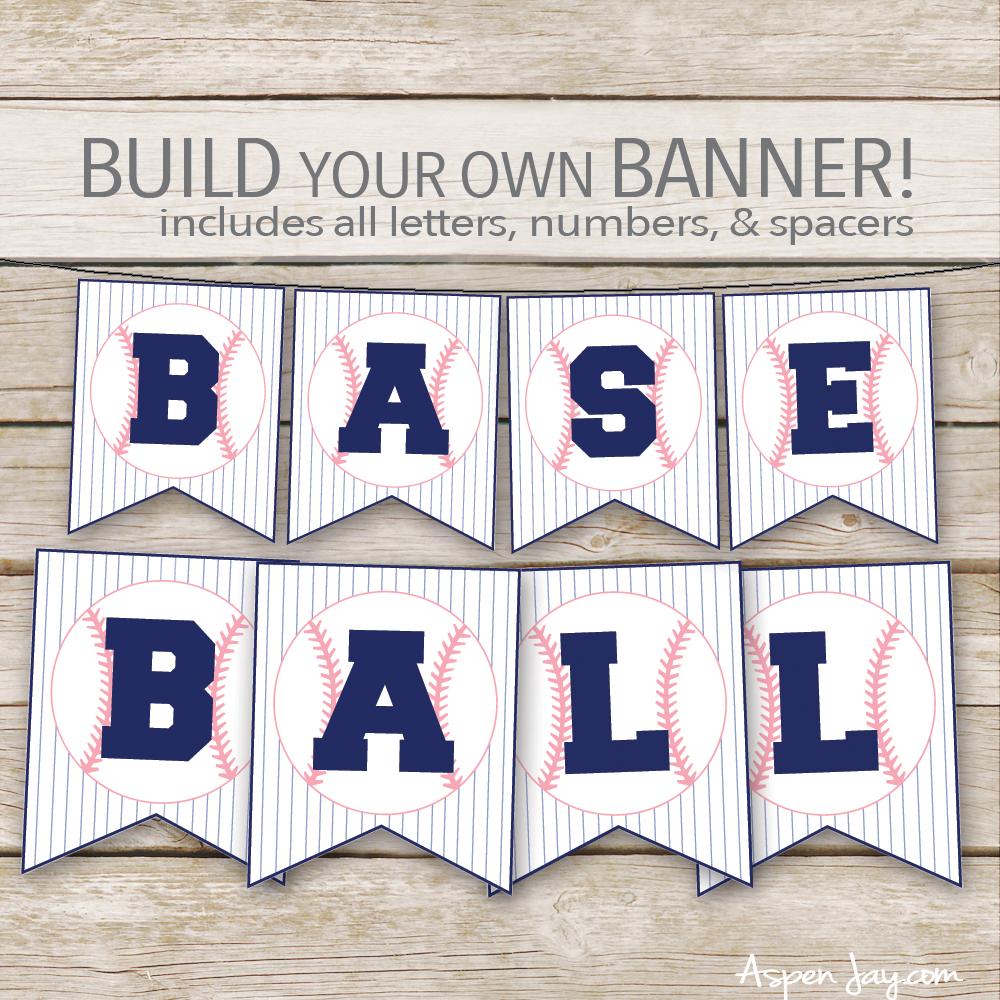 free baseball concessions banner