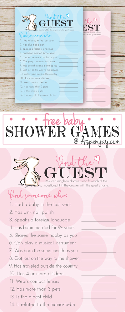image relating to What's in Your Phone Baby Shower Game Free Printable named Cost-free Kid Shower Sport- Locate the Visitor - Aspen Jay
