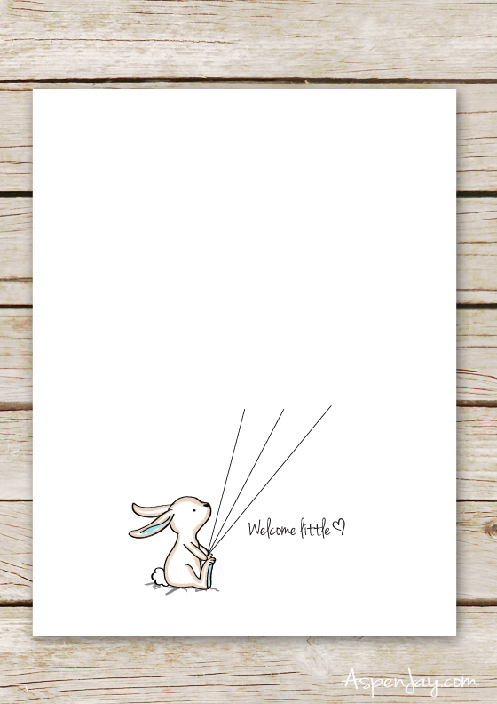 image relating to Baby Shower Guest Book Printable called Bunny Little one Shower Visitor Reserve Printable - Aspen Jay