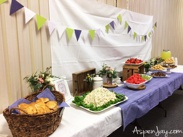 Lovely ideas for throwing an indoor spring themed garden party. Perfect way to welcome Spring!