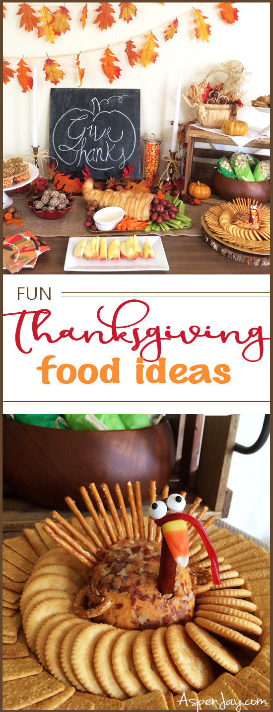 Fun thanksgiving food ideas for a preschool party aspen jay