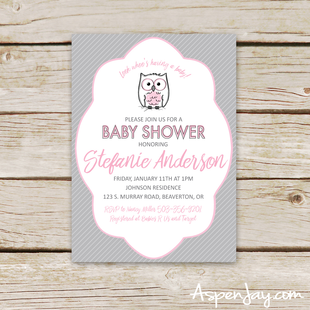 Free Owl Guest Book Printable - Aspen Jay