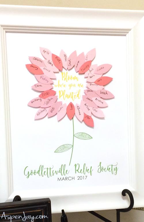 photo regarding Free Printable Flower referred to as Editable Flower Visitor Guide Printable - Aspen Jay